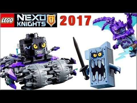 Лего 2017 Нексо Найтс Штурмовой разрушитель Джестро и новинки наборы LEGO Nexo Knights