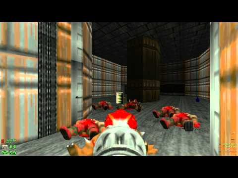 Misc Computer Games - Doom - E1m7 - Computer Station