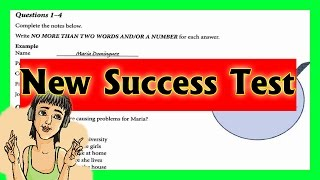 ielts listening practice test 2016 with answers Success Test