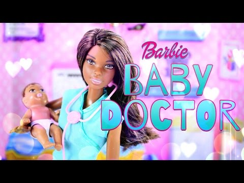 Unbox Daily: Barbie Baby Doctor - Doll Review - 4K
