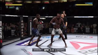 UFC 230 - Derek Brunson Vs Israel Adesanya - UFC 3