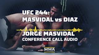 UFC 244: Jorge Masvidal Conference Call Audio - MMA Fighting
