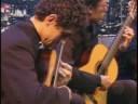 Quaternaglia Guitar Quartet (Brazil) Sonata Cravo e Canela by Sergio Molina  Programa do Jô (2006)