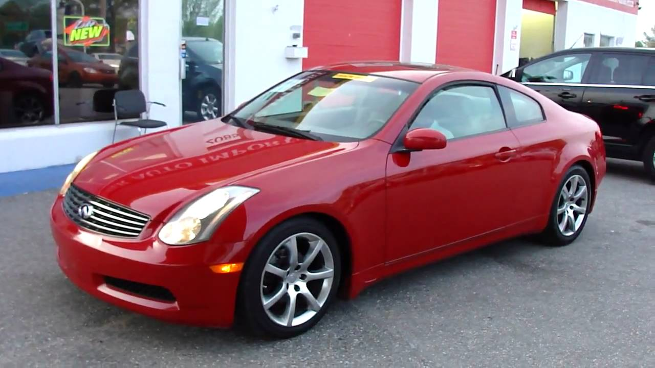 2004 nissan g35 coupe for sale premier auto imports youtube. Black Bedroom Furniture Sets. Home Design Ideas