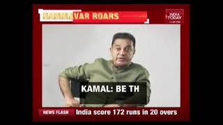 Kamal Haasan Releases Video Urging People To Be The Change