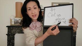 Sony 教法文: Lesson 84 - C'est un génie
