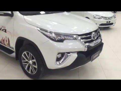 Nova Toyota SW4 2016 SRX 4x4 Diesel 7 Lugares (Canal CarClubBrasil)