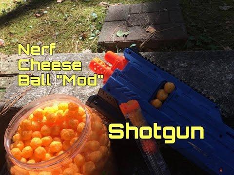 A Really Cheesy Nerf SHOTGUN Mod (Rival Atlas + Cheese)