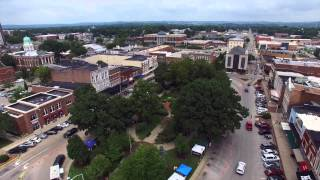 Downtown Bowling Green, KY - DJI Phantom 3 Professional Drone