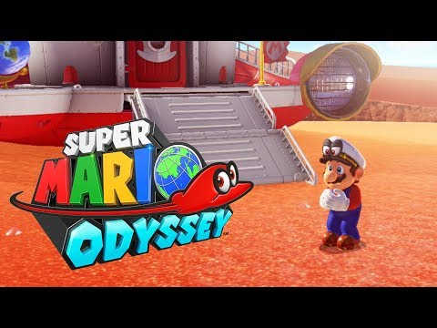 SUPER MARIO ODYSSEY #2 - O Reino da Areia! (Nintendo Switch Gameplay)