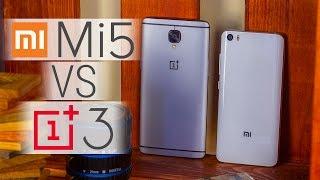 Xiaomi Mi5 VS OnePlus 3 - битва китайских флагманов. Сравнение Xiaomi Mi5 и OnePlus 3 от FERUMM.COM