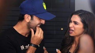 Deepika Padukone & Ranbir Kapoor TAMASHA   UNCUT Wrap Up Party VIDEO