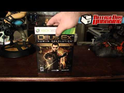 Release Day Unboxing 8-23-11: Deus Ex: Human Revolution Augmented Edition