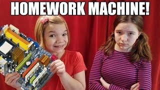 Homework Machine Really Works! Babyteeth4 Mini Movie