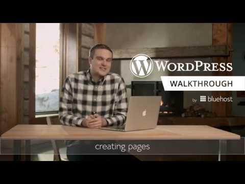 WordPress Walkthrough Series (3 of 10) - Creating Pages