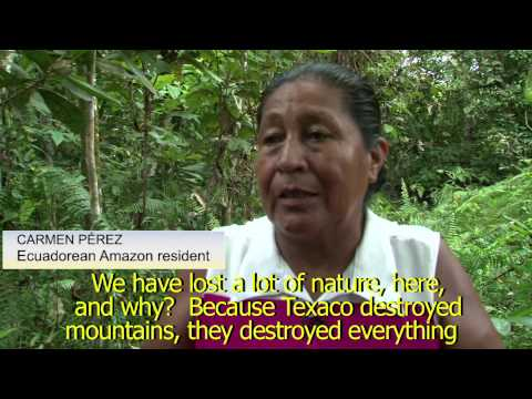 Chevron's Toxic Legacy in Ecuador - Lago Agrio Contamination