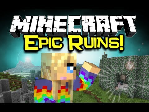Minecraft: RUINS MOD Spotlight Epic Dungeons Structures Minecraft Mod Showcase