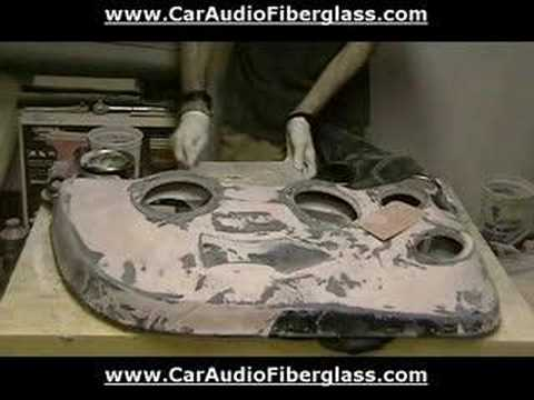 How To Fiberglass Car Door Panel / Fiberglass Door Panel Car Music Videos