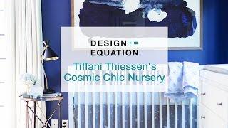 Tiffani Thiessen's Cosmic Chic Nursery