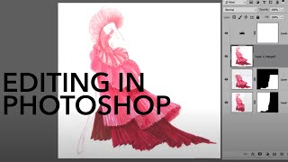 How to Scan + Clean Up Illustrations in Photoshop