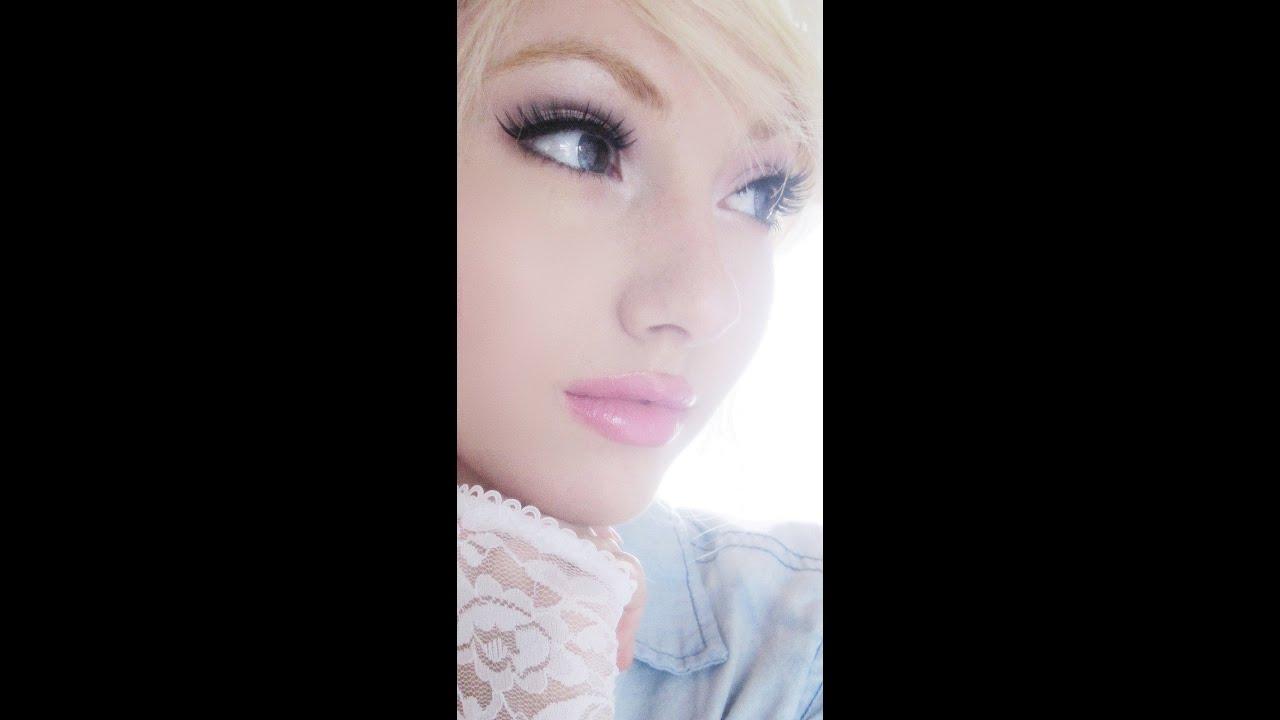 Barbie Doll Eye Makeup