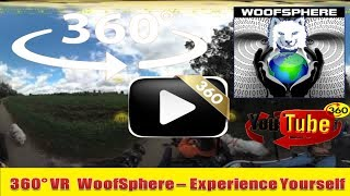 360 Videos    FurWheeling The Union Canal Trail, PA in 360º   Woofsphere