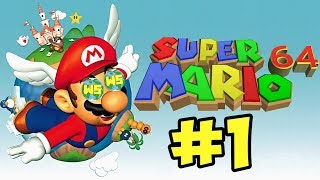 Super Mario 64: Hello Fellow Gamers - Part 1 - World Select Gaming