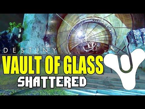 Destiny Vault of Glass Shattered LegendaryExotic Gear