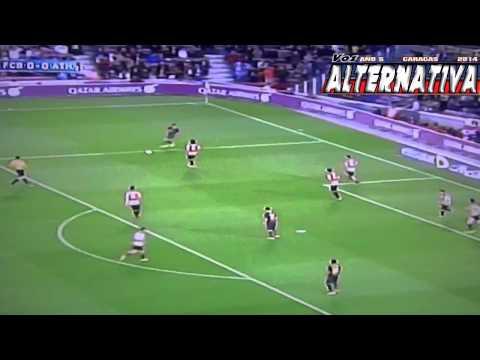 F.C BARCELONA (2) VS ATH BILBAO (1). GOLES
