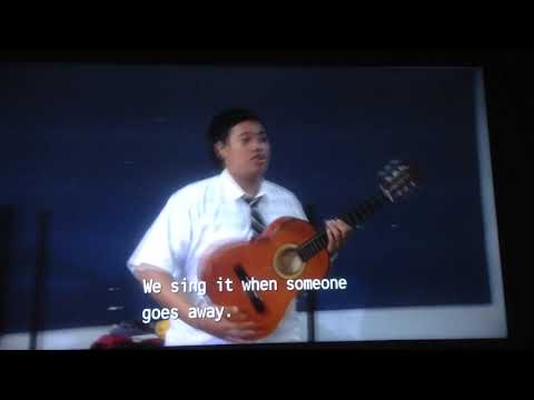 Alu a Koe (traditional farewell song)- Jonah from Tonga