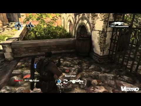 Gears of War 3 'Oldtown' Execution Multiplayer (HD 1080p)