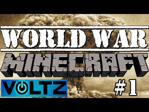 Voltz: World War Minecraft - New Base And Server!