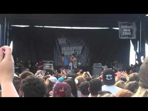 3OH!3- My First Kiss- Warped Tour 2011 Scranton