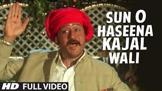 Sun O Haseena Kajal Wali [Full HD Song] | Sangeet | Jackie Shroff, Madhuri Dixit