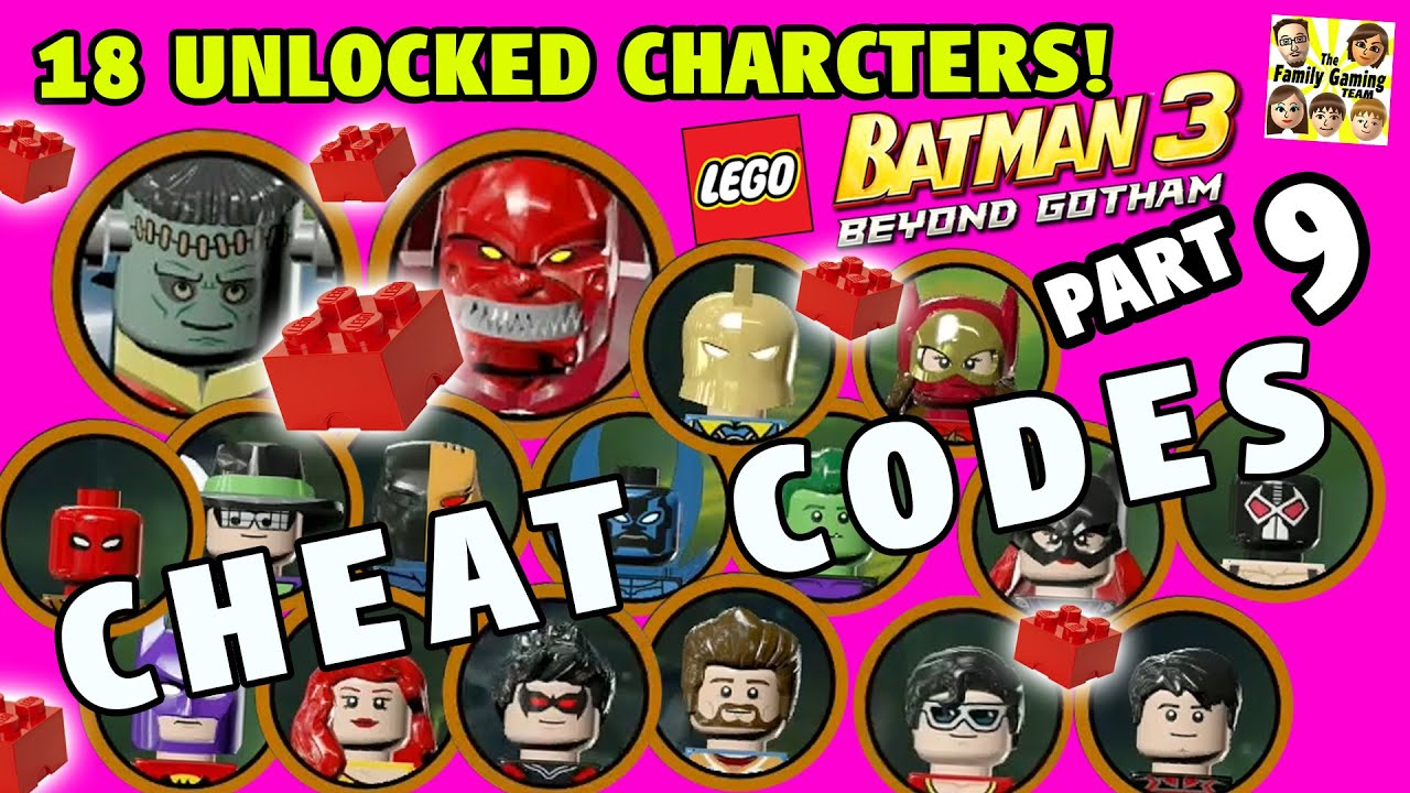 Lego Batman 3 Character List Lego Batman 3 Cheat Codes