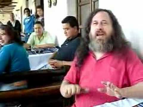 Richard Stallman Free software Song