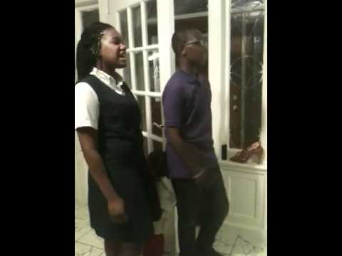Rajane Katurah & Lazarus singing Marry You by Bruno Mars
