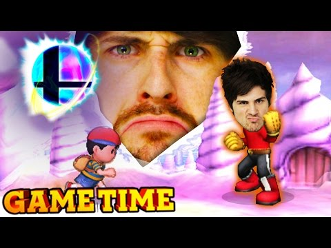 SUPER SMASH BROS – WE PLAY WITH OURSELVES (Gametime w/ Smosh Games)