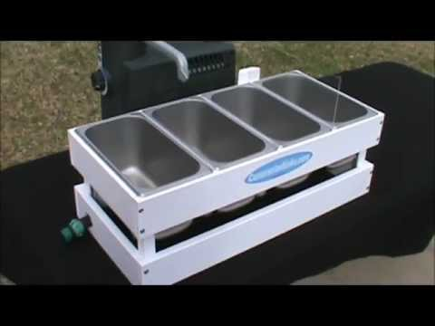 The Micro Table Top Concession Sink - YouTube