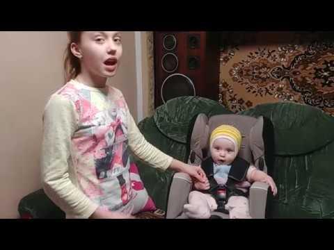 Уникальное детское авто кресло