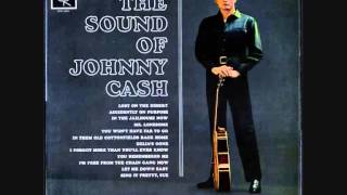 Watch Johnny Cash Mr. Lonesome video