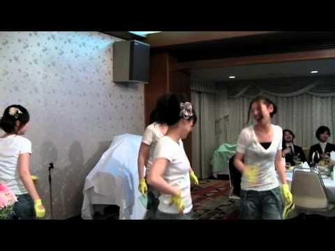 神戸♪結婚式二次会余興♪KARAミスター♪ヒップダンス