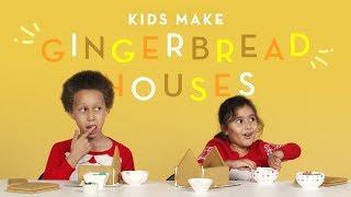 Download Kids Make A Gingerbread House 3Gp Mp4