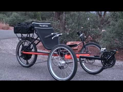 TerraTrike Rambler with E-BikeKit in for Review   Electric Bike Report
