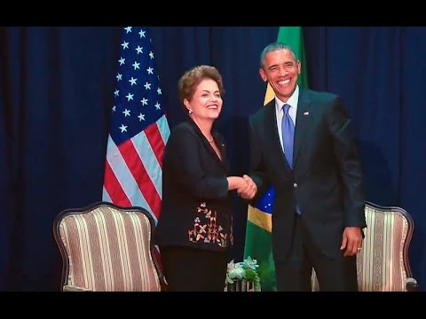 President Obama Meets with President Dilma Rousseff