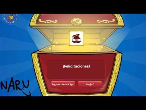 Club Penguin:Nuevos Codigos Reutilizables Febrero 2013:1000 Monedas! HD