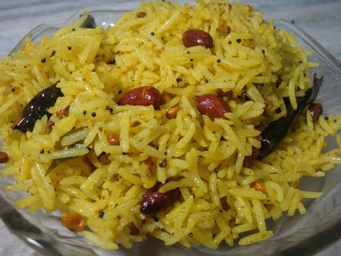 LEMON RICE SOUTH INDIAN RECIPE (ENG SUBTITLES )- BY SHARMA'S KITCHEN