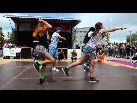 Show HipHop élèves débutants MJC Montauban 2014