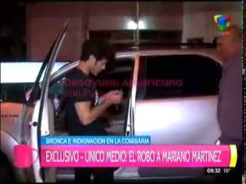 Así encontraba Mariano Martínez su camioneta después del robo
