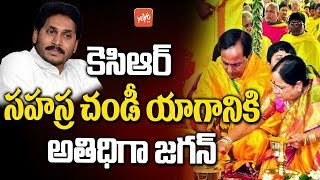 YS Jagan is Special Guest For the CM KCR Sahasra Chandi Yagam | Latest Updates